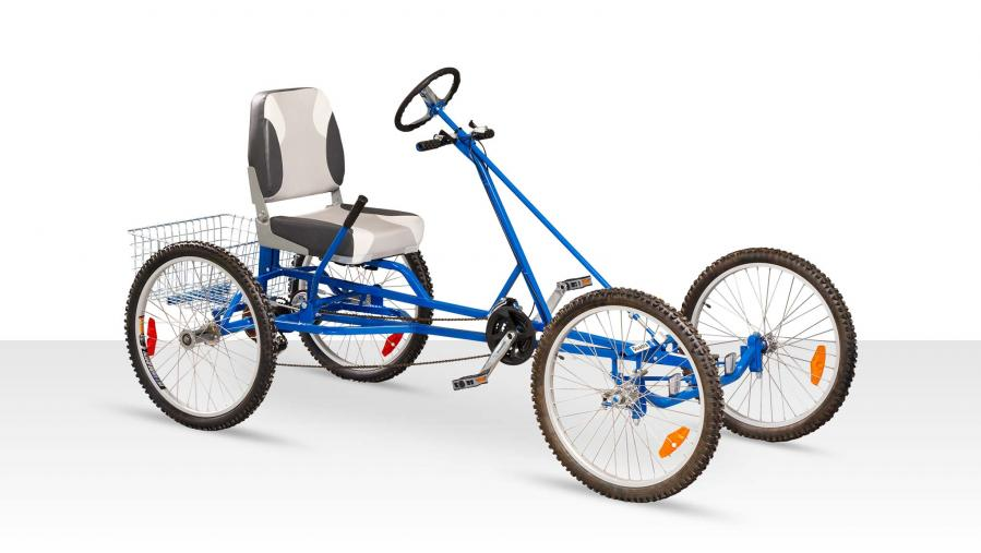 VierBikes Sprint quadricycle