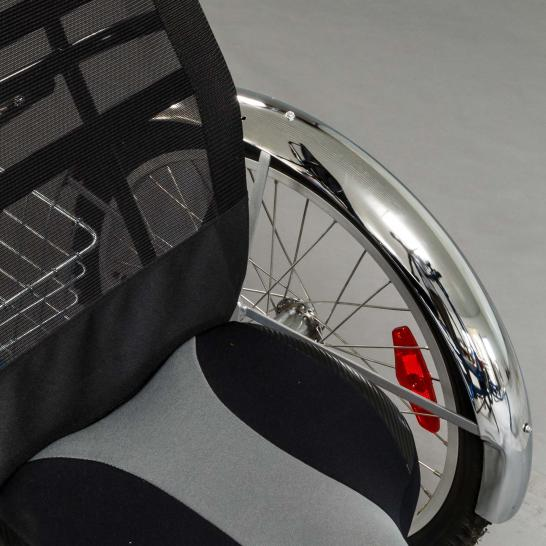 Chrome fenders for your VierBike